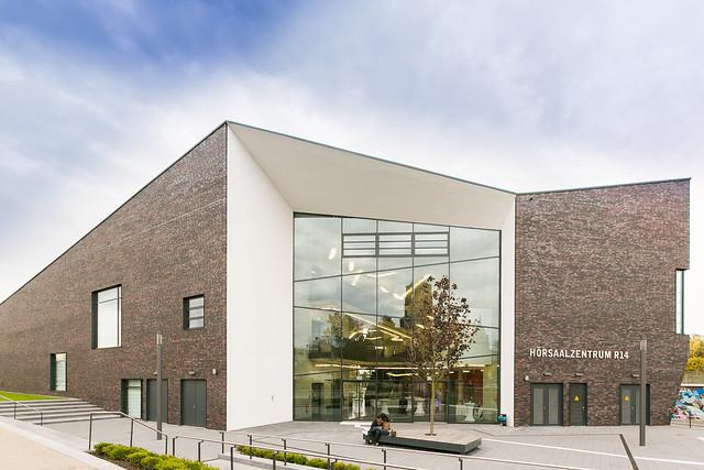 Eröffnung des neuen Audimax am Campus Essen
