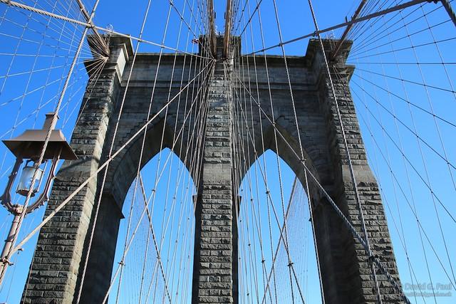 Brooklyn Bridge, from the Manhattan side