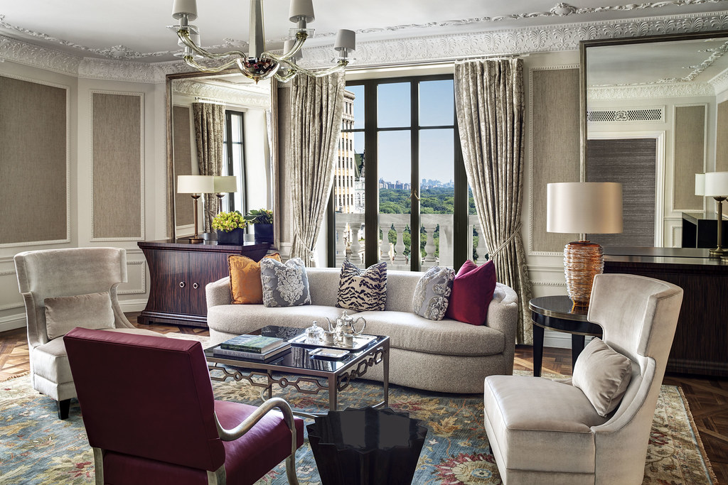 The St. Regis New York—Presidential Suite Living Room