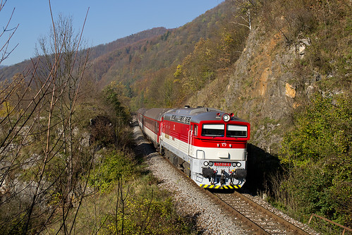 train railway 757 014 jakub vlak zsr zeleznica zssk