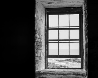 Cape Henry Lighthouse Window, Fort Story, Virginia Beach | by PeterDSims