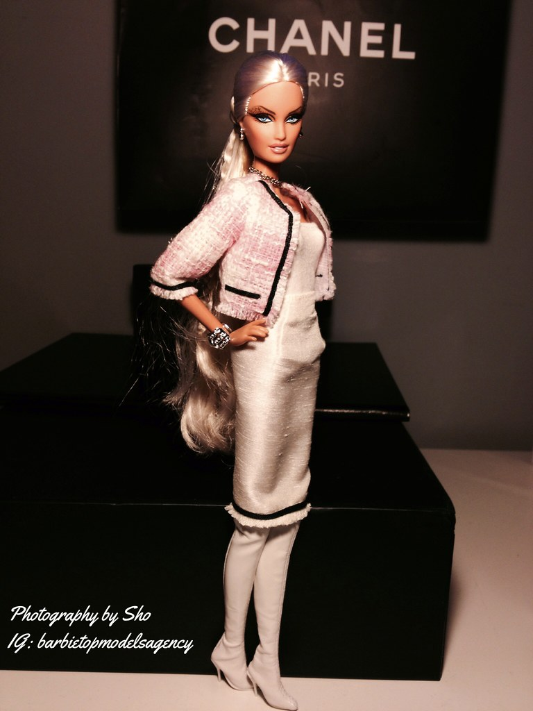 Barbie for Chanel F/W 2014 collection. #barbie #barbiestyl… | Flickr