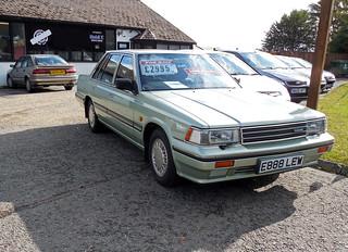 1988 Nissan Laurel 2.4 SGX auto | by Spottedlaurel