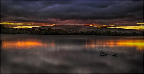 ireland sunset lanscape