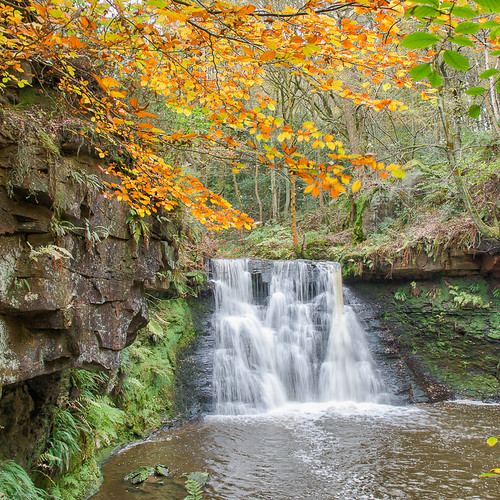 autumn england colour waterfall nikon bradford unitedkingdom yorkshire d800 cullingworth hardenbeck philiphuntervividvistanikon