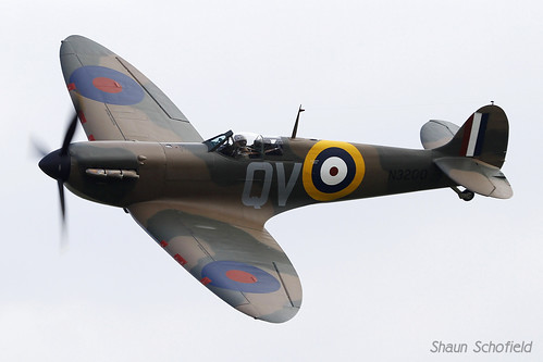 Supermarine Spitfire Ia N3200/G-CFGJ The Aircraft Restoration Company Duxford 14/09/14 | by Shaun Schofield