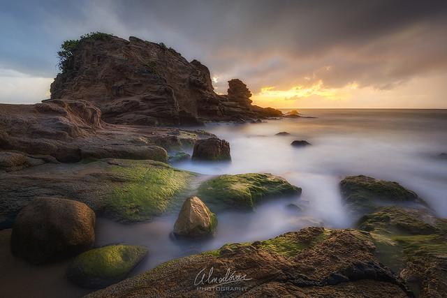En espera de la luz, a orillas del Morrillo...