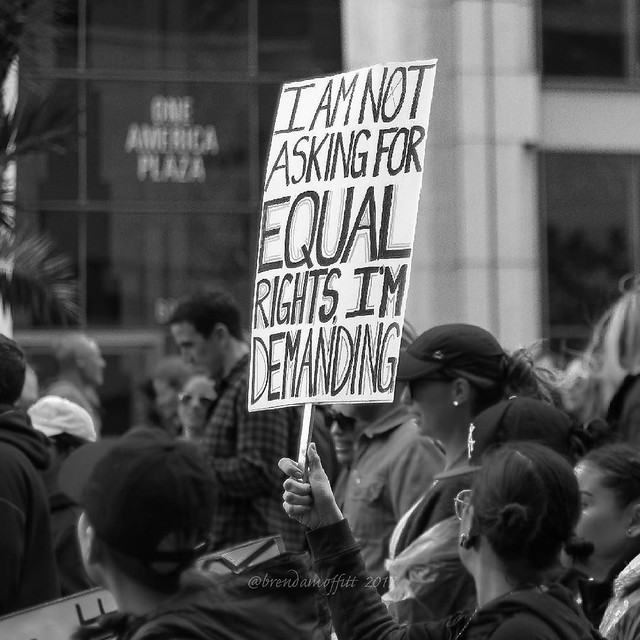 I Am Not Asking for Equal Rights, I'm Demanding