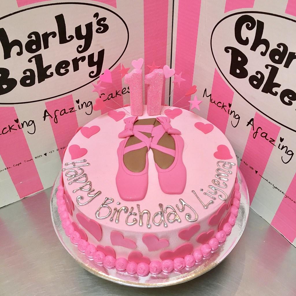 Sensational Ballet Themed Single Tier Birthday Cake Iced In Pastel Pin Flickr Birthday Cards Printable Opercafe Filternl
