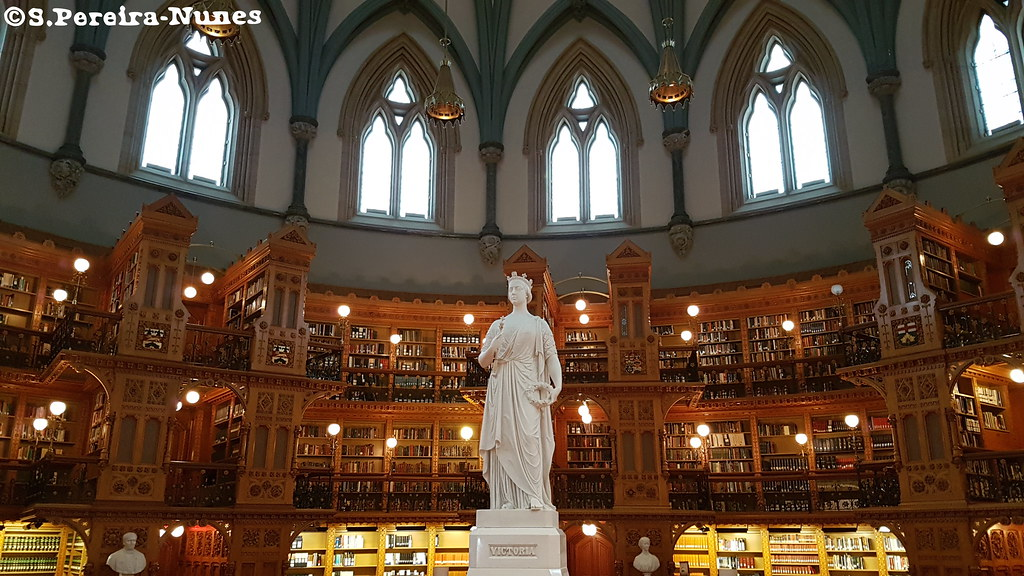 The Library of the Parliament, Ottawa, Canada