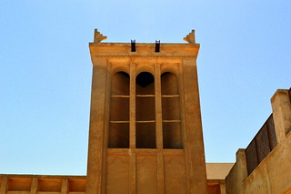 Arabic Wind Tower | by rougetete