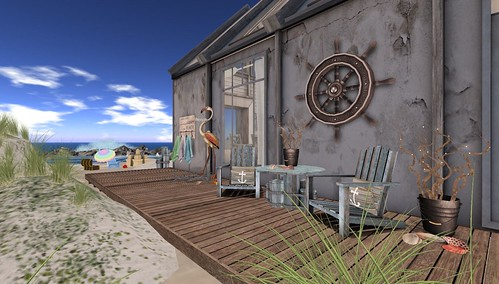 Beach Days Part 1: Tylar's Treasure (Nautical) | by Hidden Gems in Second Life (Interior Designer)