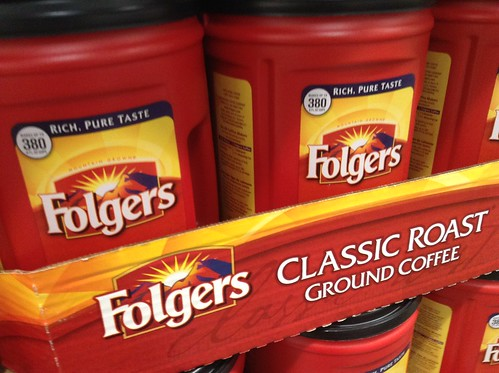 Folgers Classic Roast, Ground Coffee, at Costco, 6/2015, by Mike Mozart of TheToyChannel and JeepersMedia on YouTube #Folgers #Coffee | by JeepersMedia