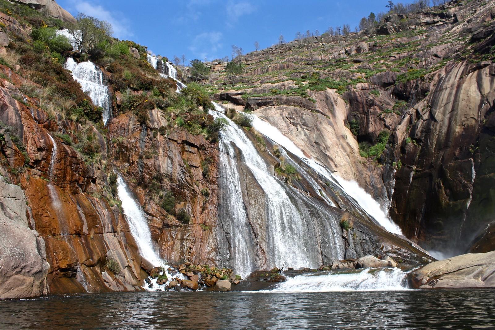 Ézaro Waterfall, Spain
