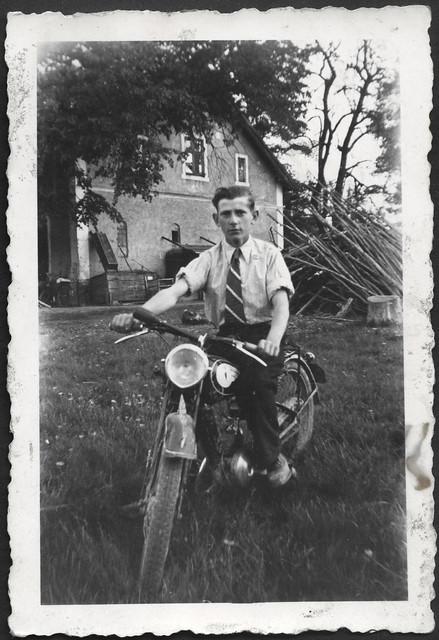 Archiv A448 Motorcycle, Motorrad DKW, 1930s