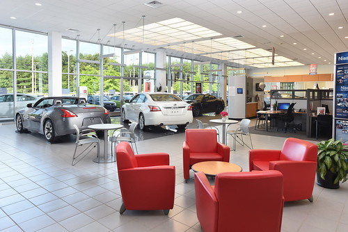 Fred Anderson Nissan Asheville >> Fred Anderson Nissan Asheville Showroom | Anderson