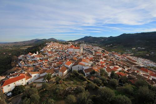 city portugal village alentejo cityskape castelodevide