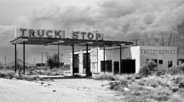 Truck Stop - Sierra Blanca,Texas