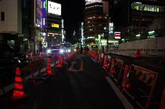 Shibuya roadworks
