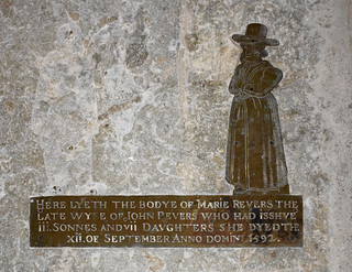 Mary Revers, 1592