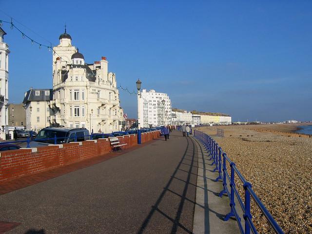The promenade in Eastbourne