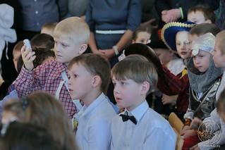 Рождественский концерт в школе 155
