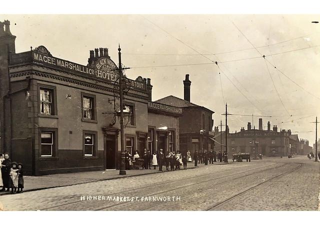 1900c Higher Market Street (i) 'The Black Horse' & 'The Bird ith Hand'