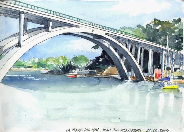 La Trinité sur Mer - Pont de Kerisper - 22 10 2014