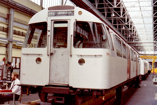 1972 Mark 2 DM3540 Neasden 1983 openday