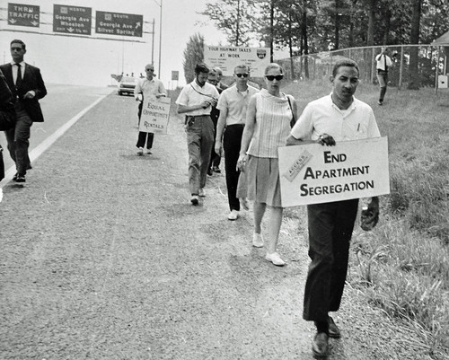 Anti-Bias March Around the Beltway: 1966 | by Washington Area Spark