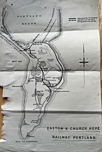 Easton & Church Hope Railway Report map 1937 | by ian.dinmore