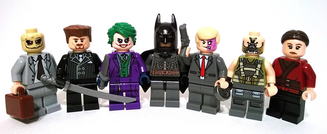The Dark Knight Trilogy: Gotham Rogues