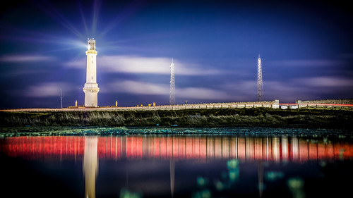 longexposure lighthouse color reflection darren canon puddle aberdeen wright torry 6d twop nigg greatphotographers visitscotland darrenwright visitaberdeen infinitexposure dazza1040