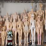 【閲覧注意】Dollボディ比較SD・ユノア・オビツ