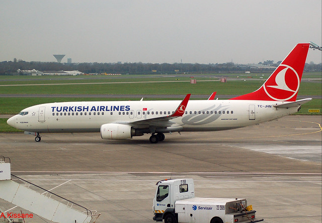 TURKISH A/L B737 TC-JHN