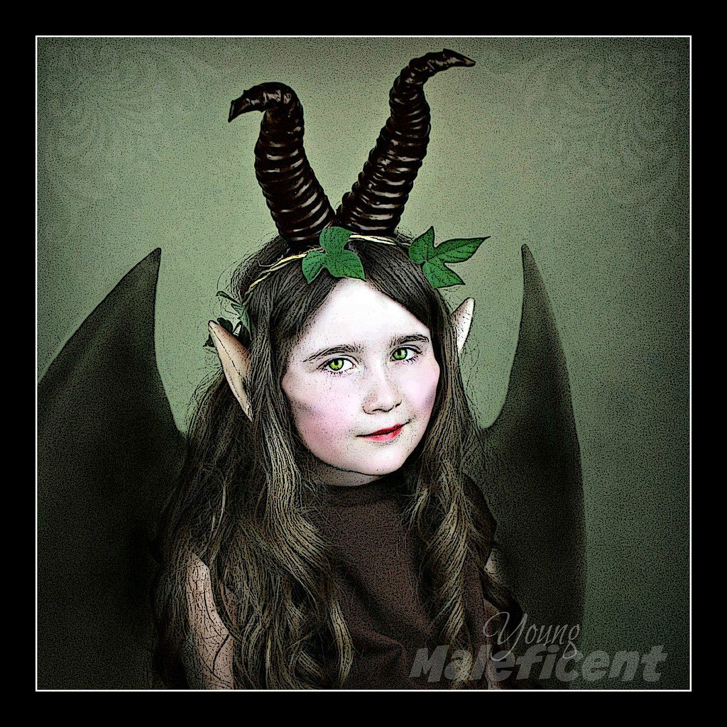 Young Maleficent I Made The Horns Myself As Cheap As Chips
