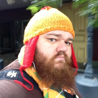 Heading in to @PAXAUS. I'll be looking like this. #PAXAUS #jaynehat #nerd #gamer | by griffmiester