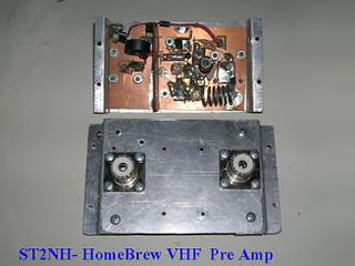vhf pre amp