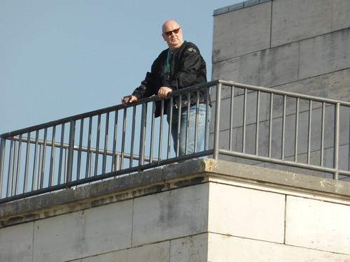 Me standing in the footsteps of AH in Nurnberg