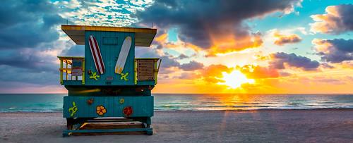 miamibeach sobe sunrise colors seashore seascape blue yellow sand outdoors urban urbanexploration unitedstates beach beachscape waterways walkingaround earlyinthemorning exploration