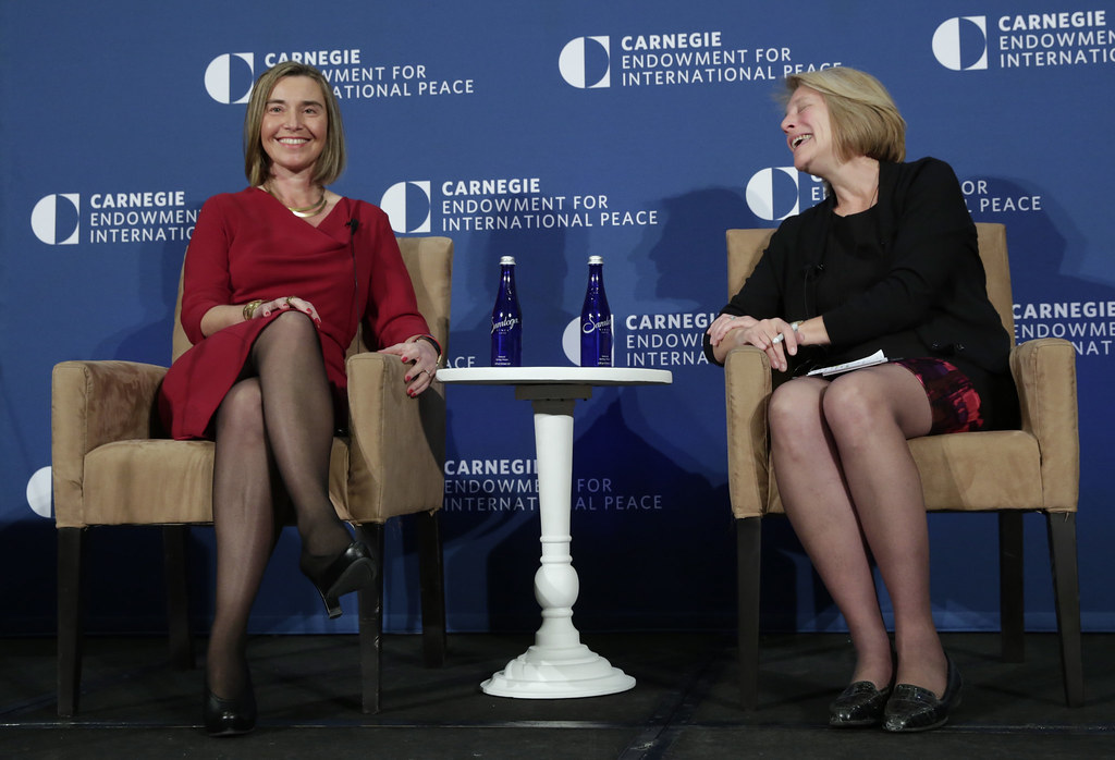 Privacy Policy >> Federica Mogherini visits the US | Federica Mogherini speaks… | Flickr
