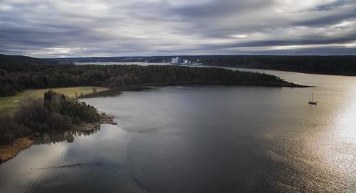 multicopter drone dji phantom aerial kjellandsvik eggholmen moss jeløy jeløya østfold norway norge