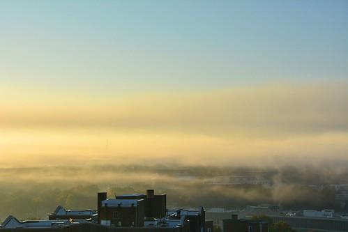 usa sunrise dawn nikon kansascity missouri morningfog layered southview d7100