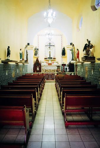 ALTAR MAYOR CONVENTO DE SAN GABRIEL CHOLULA
