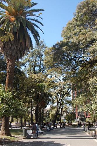 Plaza Independencia, Tucumán   by blueskylimit
