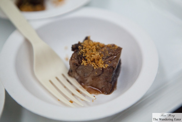 Braised short rib from Fleet Street Kitchen (from Baltimore, Maryland)