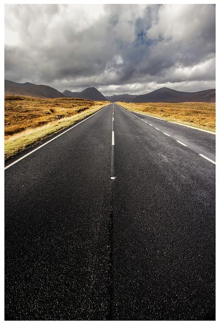 A82 to Glencoe, from Rannoch Moor