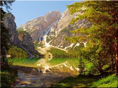 italien lake geotagged south olympus ita tyrol braies südtirol oberhaus wildsee trentinoaltoadige pragser e620 prages geo:lat=4669899500 geo:lon=1208524707