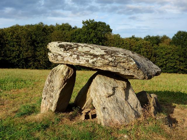 Le dolmen de la Roche de l'Abeille - Haute-Vienne - Septembre 2014 - 05