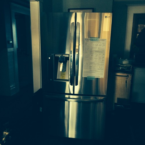 New fridge - in living room... | by neilathotep
